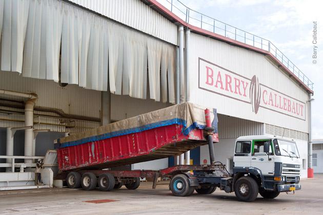 Die Kakaofabrik in Ghana - (c)Barry Callebaut