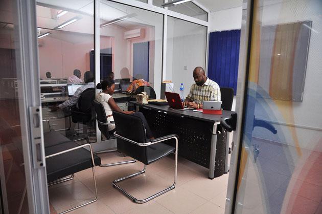 Büro von Ringier Ghana